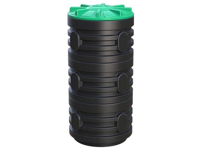 Пластиковые полиэтиленовые колодцы для водопровода и канализации