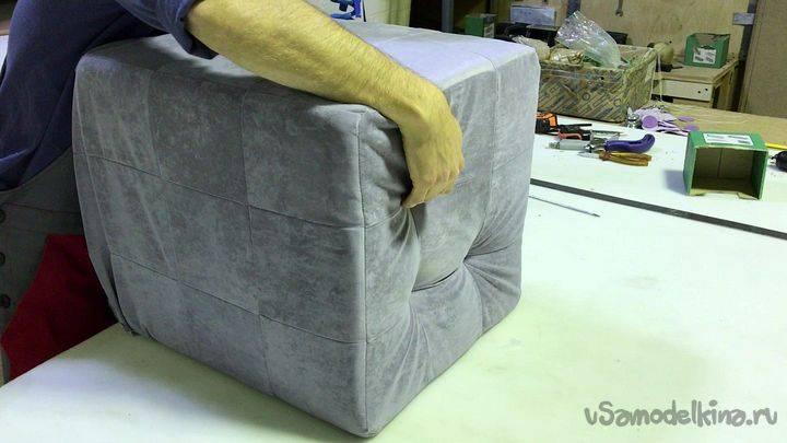 Пуфик своими руками в домашних условиях (74 фото) - пошаговые мастер-классы для начинающих