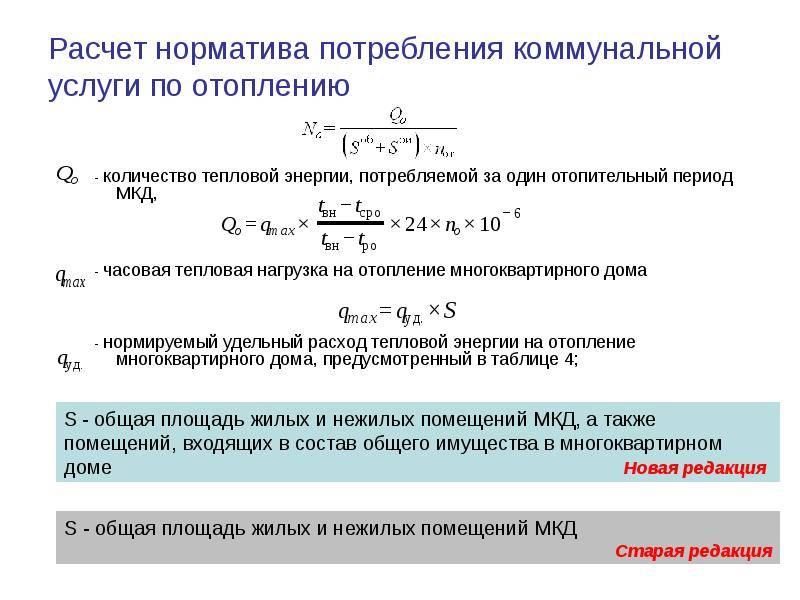 Формула расчета насоса для системы отопления