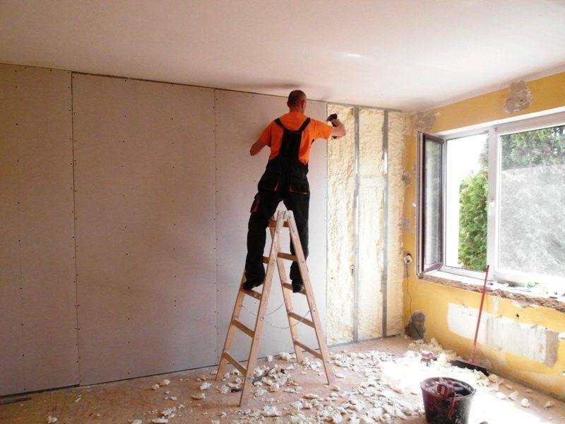 Утепление стен в квартире изнутри своими руками: технология, видео