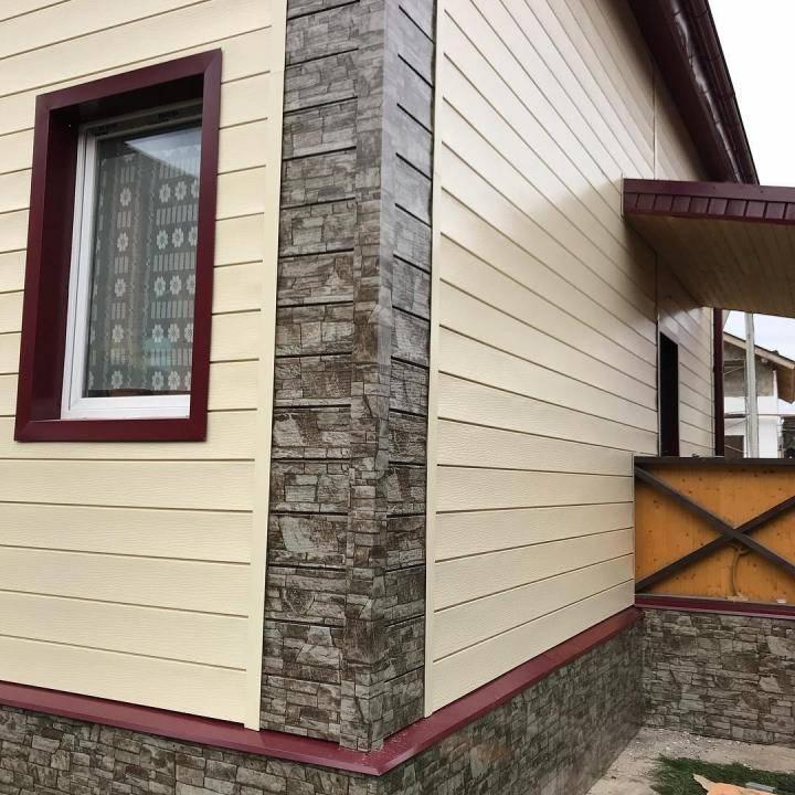 Варианты отделки фасада частного дома: обзор материалов, технологии монтажа + особенности использования