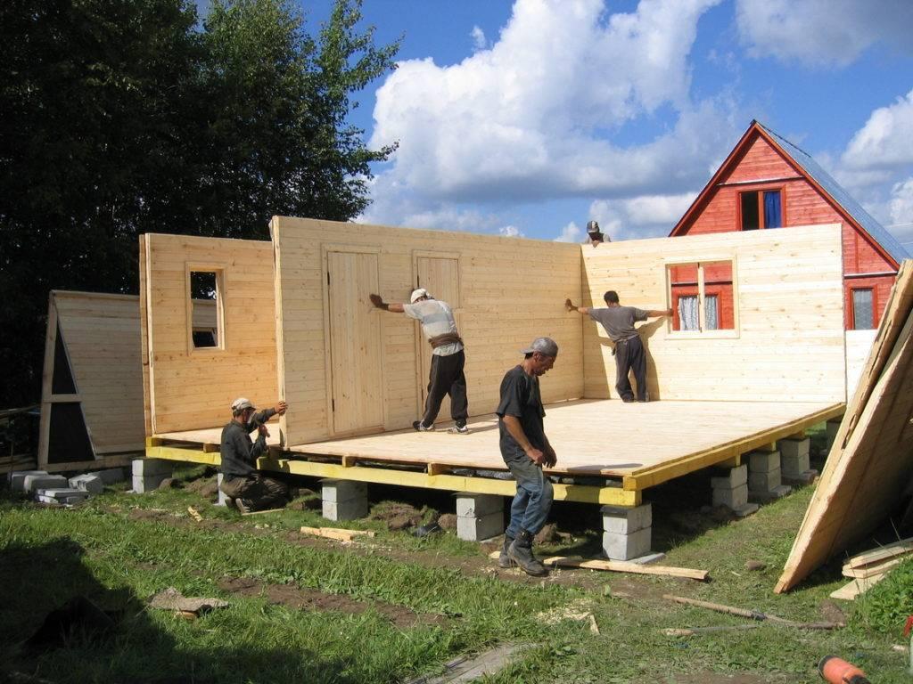 Как построить садовый домик своими руками: пошаговая инструкция :: syl.ru