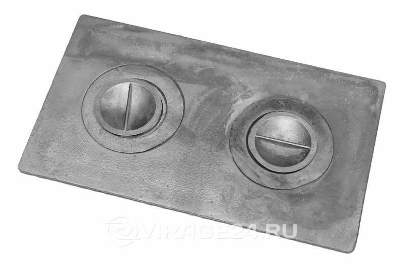Устройство чугунной плиты для печи (8 фото)