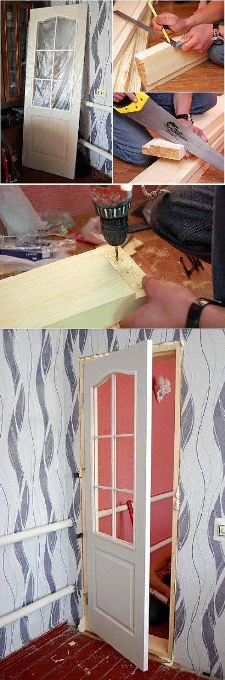Замена стекла в межкомнатной двери, как правильно заменить стекло в двери