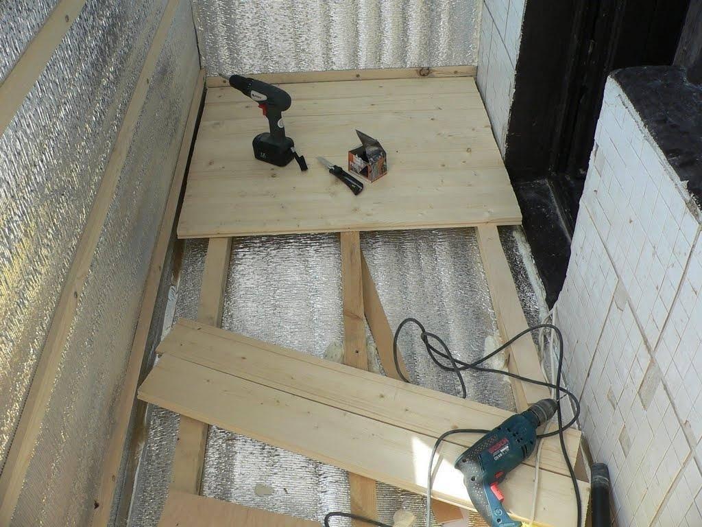 Как утеплить балкон своими руками— пошаговая инструкция от а до я