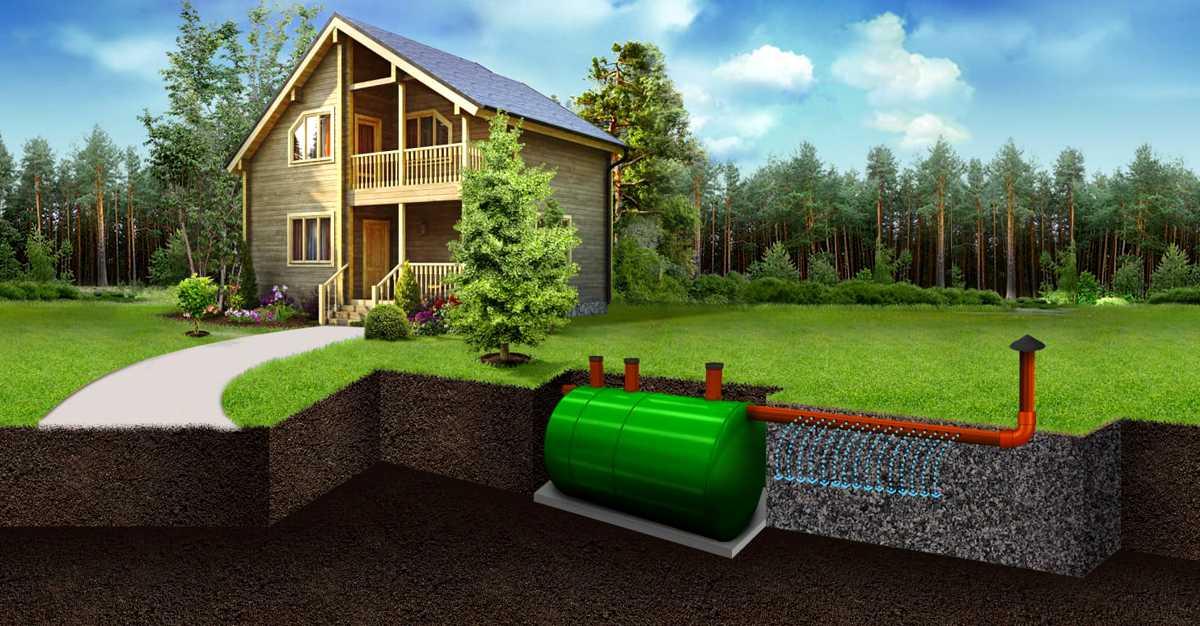 Очистные сооружения локального типа для частного дома