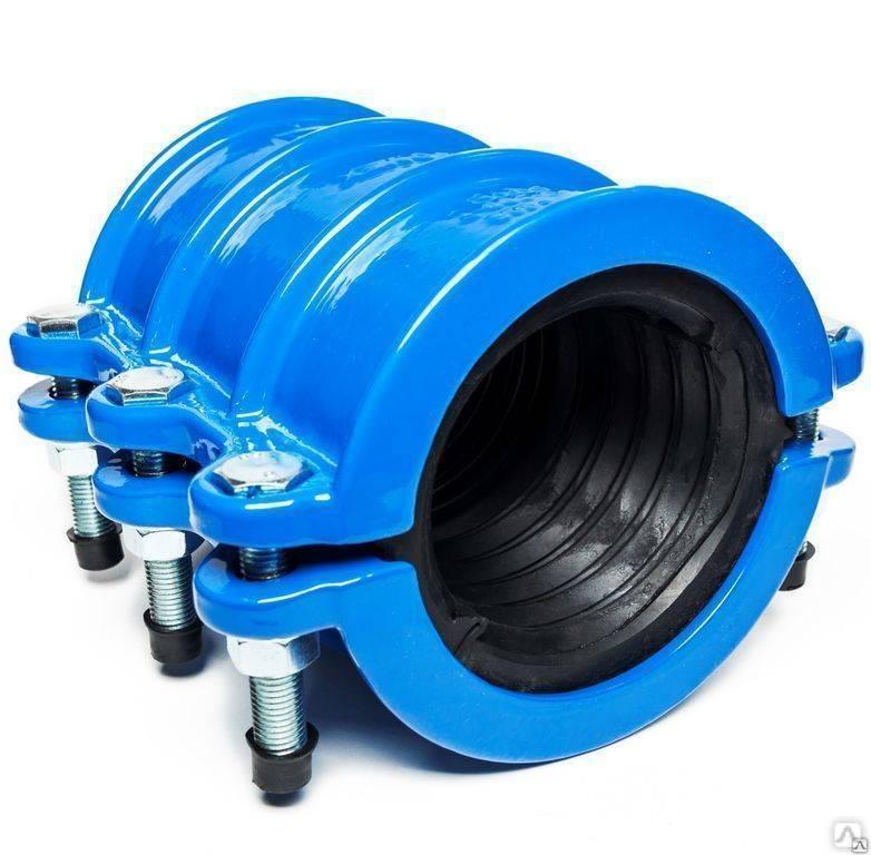 Как поставить ремонтный хомут на водопроводную трубу