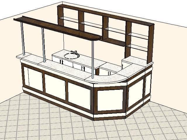 Как сделать барную стойку для кухни своими руками?