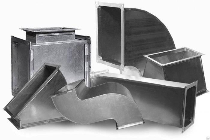 Производство воздуховодов для вентиляции