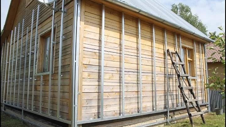 Монтаж металлического сайдинга: инструкция по обшивке и отделке фасада дома своими руками + фото