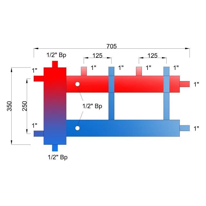 Принцип работы гидрострелки отопления | всё об отоплении