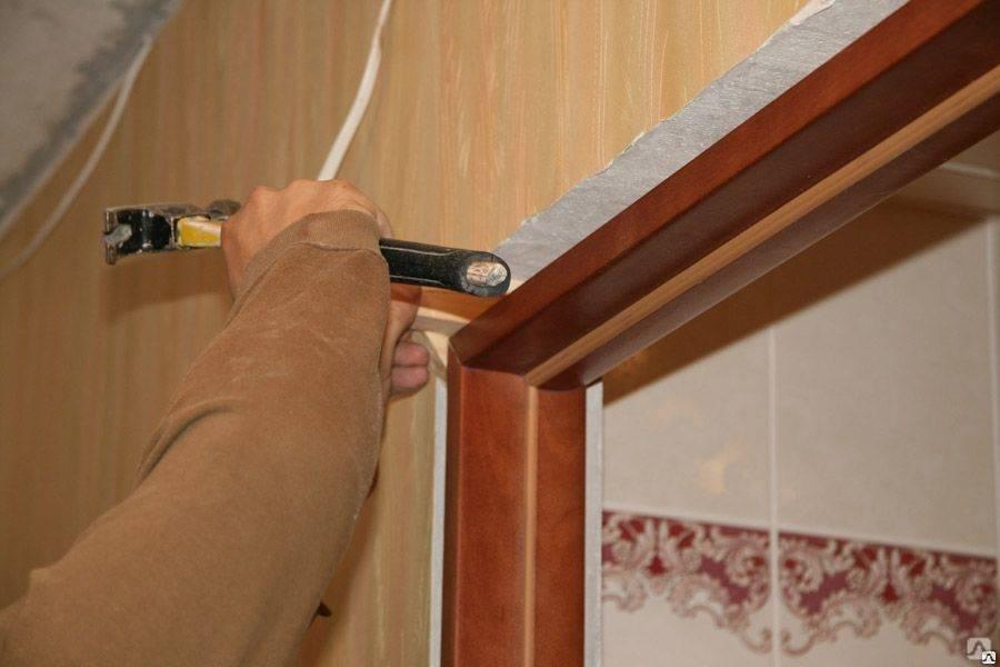 Инструкция по самостоятельной подготовке межкомнатного проёма, сборке и установка коробки и навешивании двери
