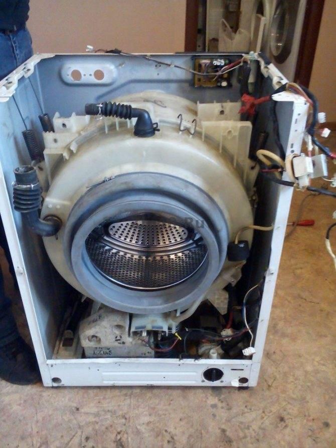 Ремонт стиральных машин занусси: разбор самых частых поломок