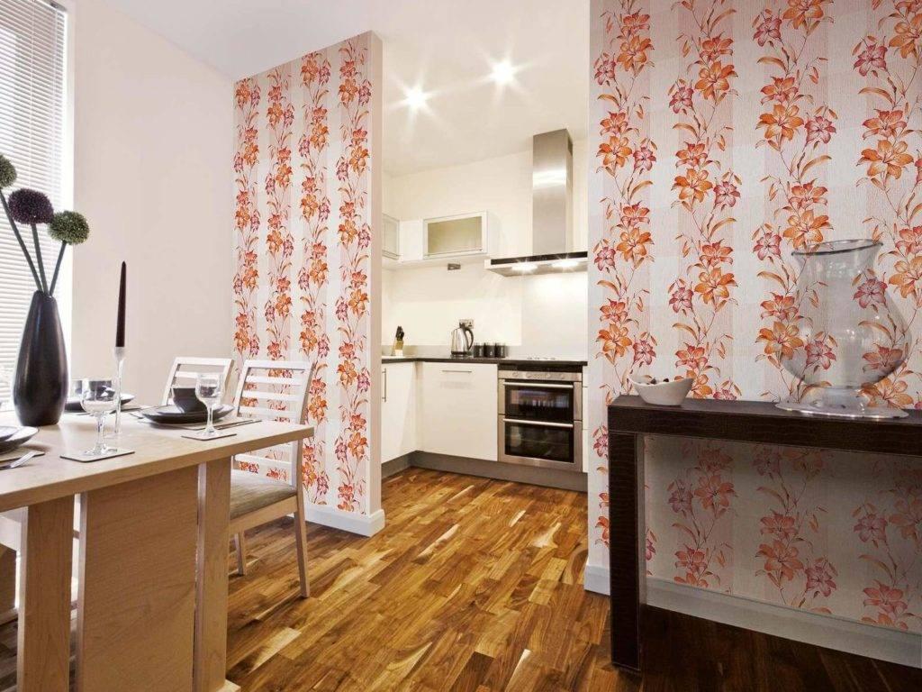 Какие обои лучше выбрать для кухни? идеи дизайна и 49 фото