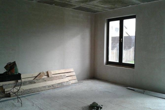 Черновая отделка квартиры в новостройке - что это значит?