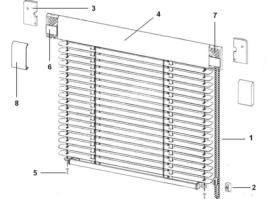 Как установить жалюзи на пластиковое окно без сверления