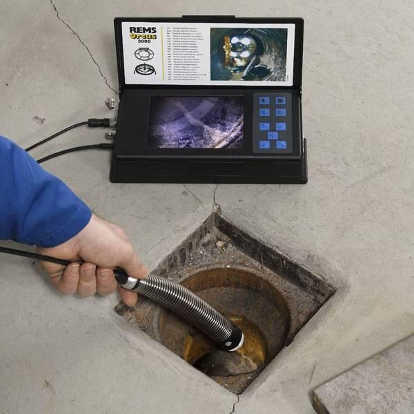 Телеинспекция канализации