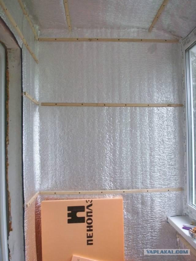 Как утеплить балкон изнутри своими руками: пошаговая инструкция и советы как и чем произвести утепление балконов и лоджий (85 фото и видео)