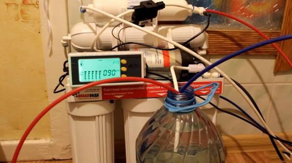 Минерализатор воды после обратного осмоса
