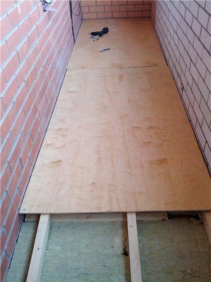 Деревянный пол на балконе: как сделать своими руками пошагово