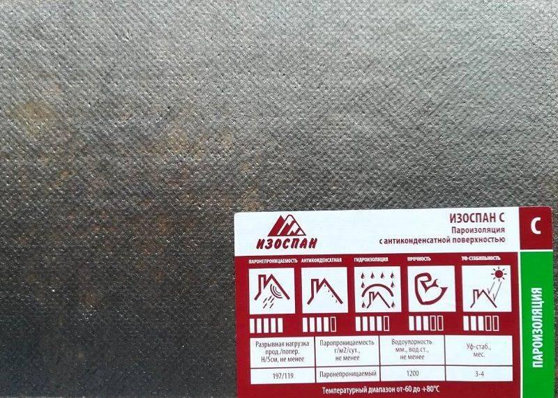 Изоляционные полотна и герметизирующие ленты под маркой изоспан