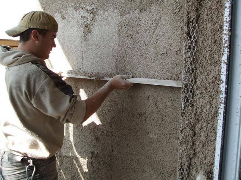 Тёплая штукатурка для фасада, а также для внутренних работ своими руками - особенности применения материала