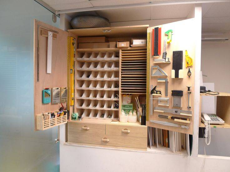Как упорядочить инструменты в мастерской. домашняя мастерская – оптимизация пространства и удобное хранение инструментов
