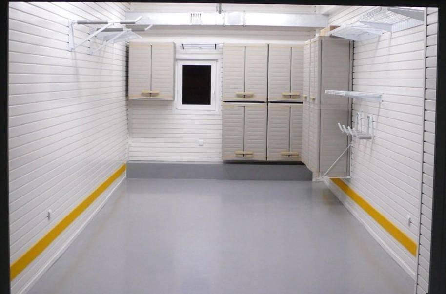 Отделка гаража внутри и снаружи