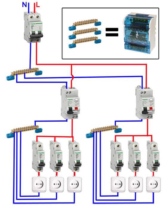 Дифференциальный автоматический выключатель тока: для чего нужен, схема подключения (в том числе в однофазной сети)