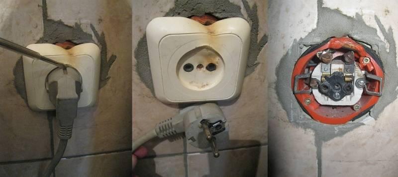 Нагрев вилки в водонагревателе: причины, как исправить