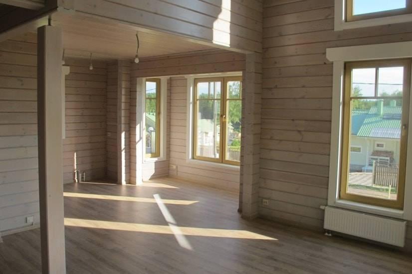 Отделка деревянного дома внутри: особенности и виды отделочных работ