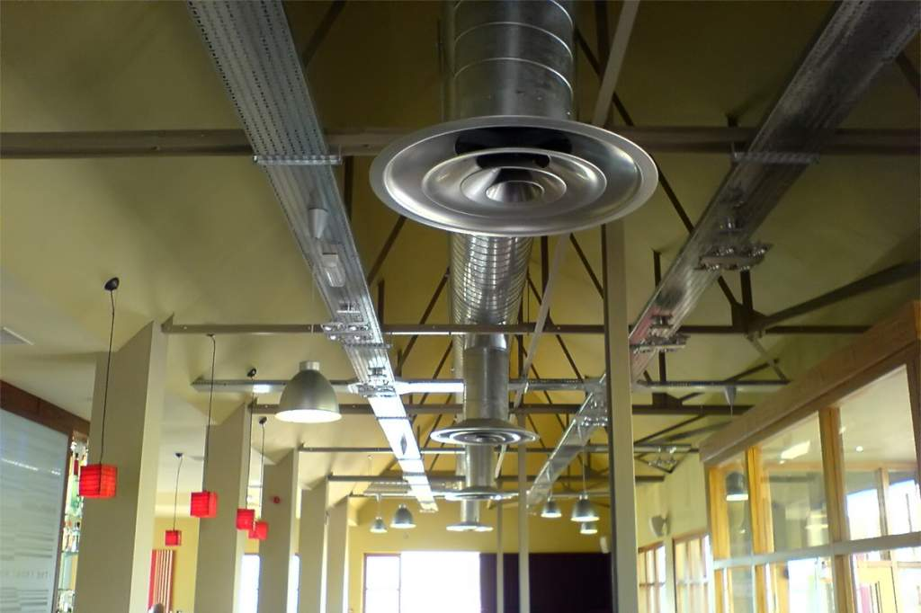 Вентиляция торговых центров — особенности составления проекта