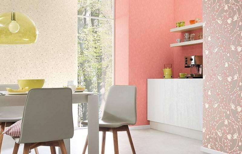 Обои для кухни (102 фото): дизайн кухонных обоев для стен кухни в квартире, красивые светлые, яркие и другие варианты обоев в интерьере