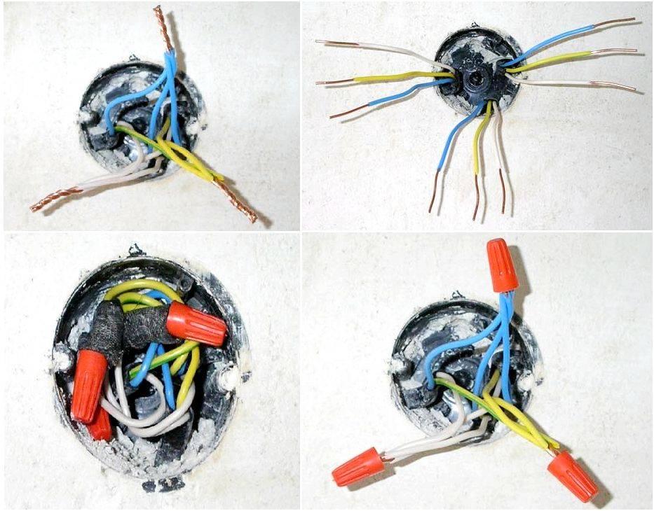 Соединение проводов в распределительной коробке: скрутка, пайка, подключение клеммниками и винтовыми зажимами