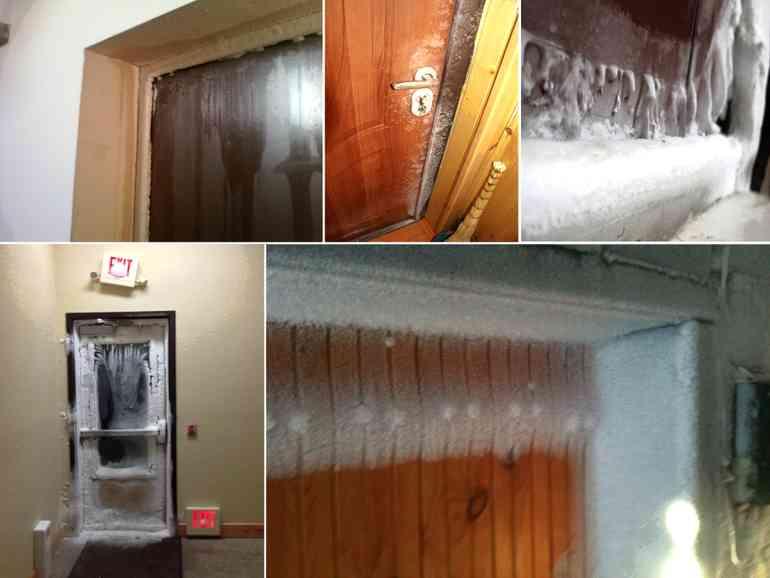 Почему потеет входная железная дверь: причины и способы их устранения   двери дома