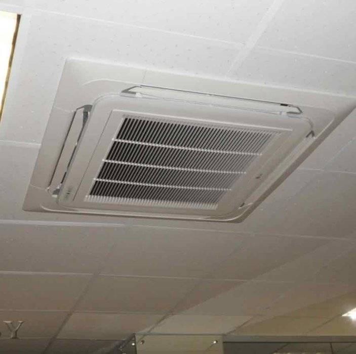 Напольно-потолочный кондиционер (29 фото): монтаж кондиционера инверторного типа, примеры в интерьере дома, инструкция по эксплуатации