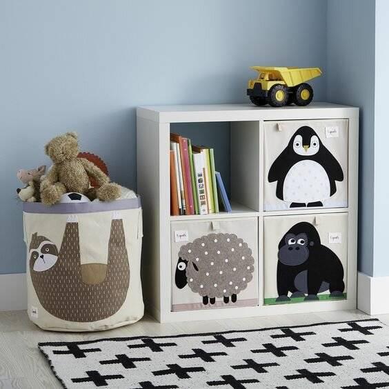 Детские игрушки: как и где хранить?