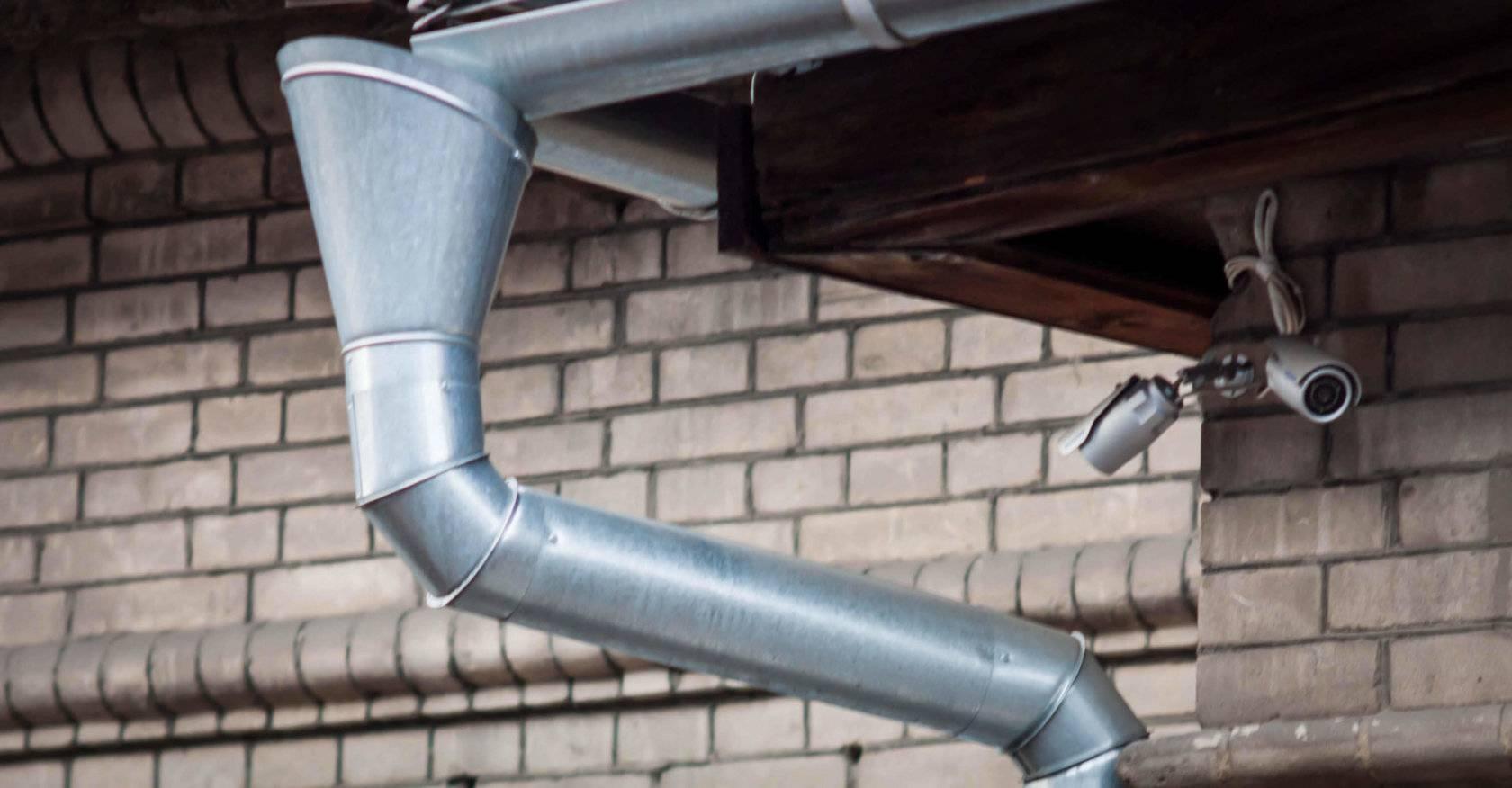 5 причин выбора водосточной системы: какие лучше, металлические или пластиковые?