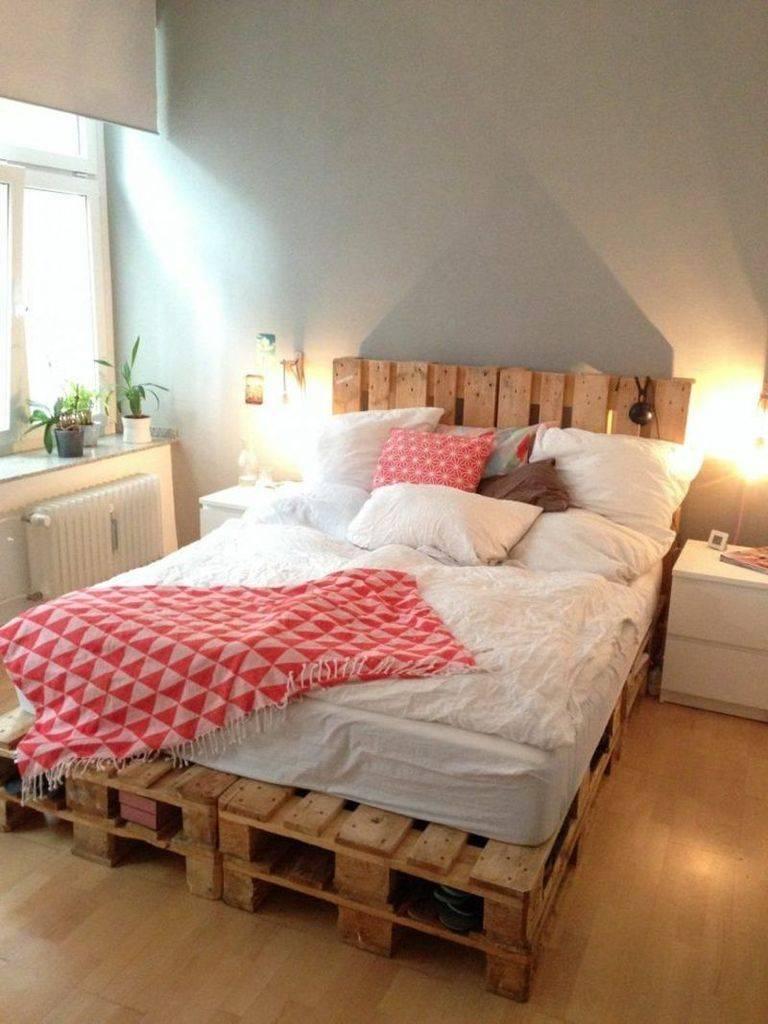 Кровать из поддонов, особенности процесса создания конструкции