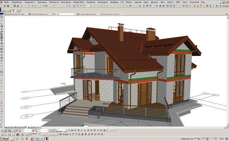 Программы для проектирования домов - фото примеров