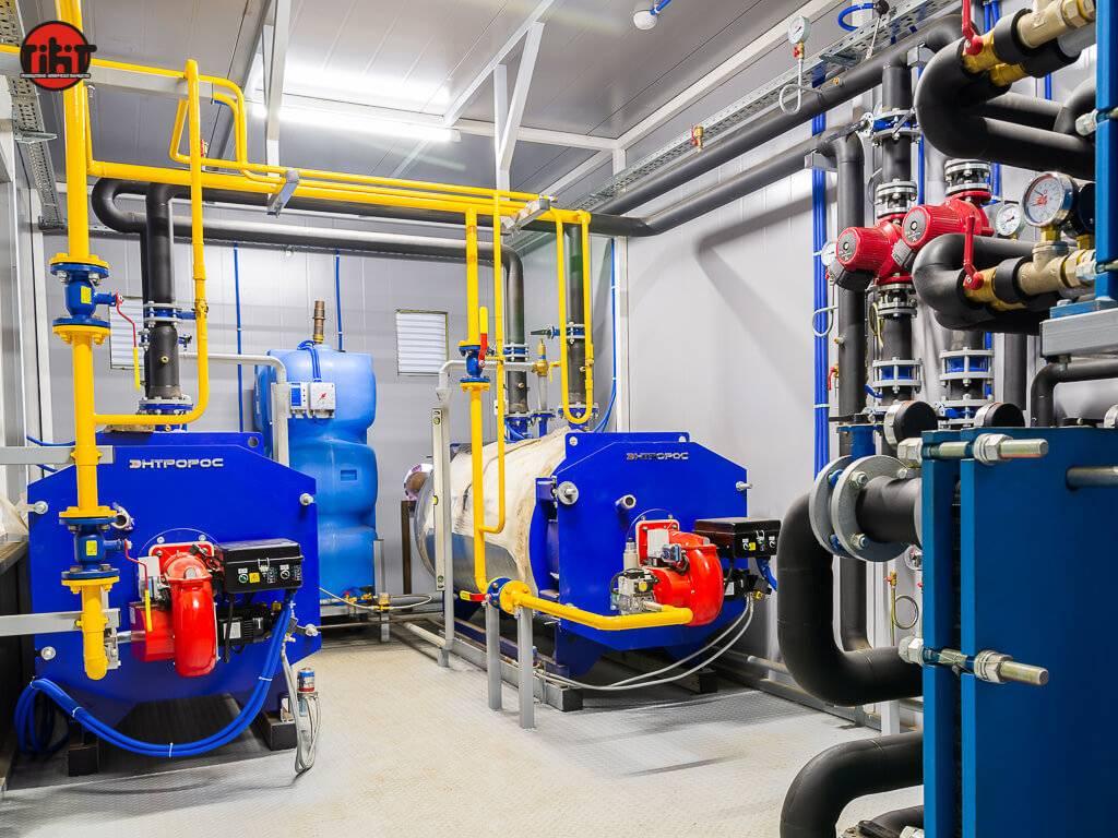 Устройство блочно модульных котельных на газе и твердом топливе