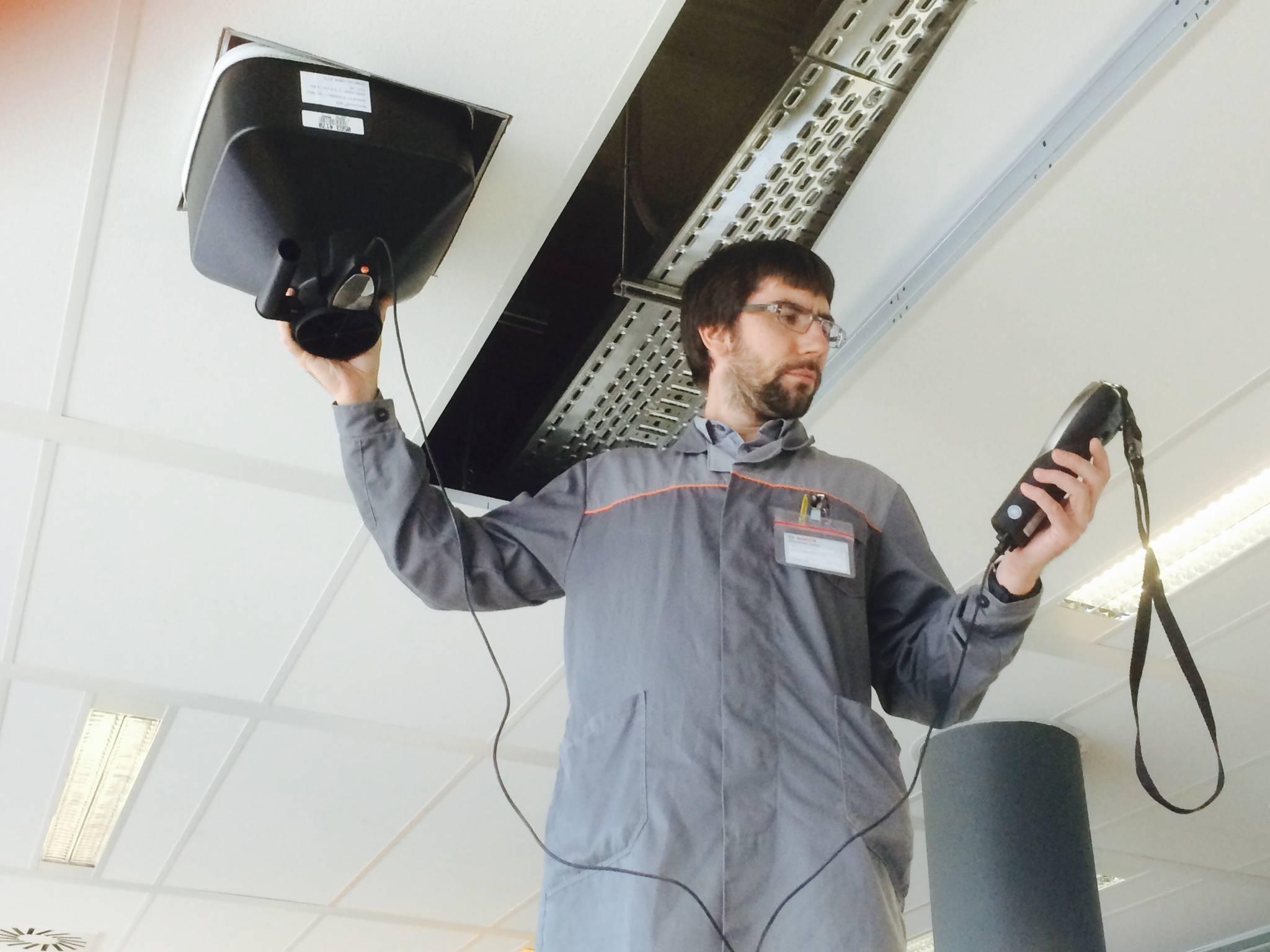 Диагностика вентиляционных систем