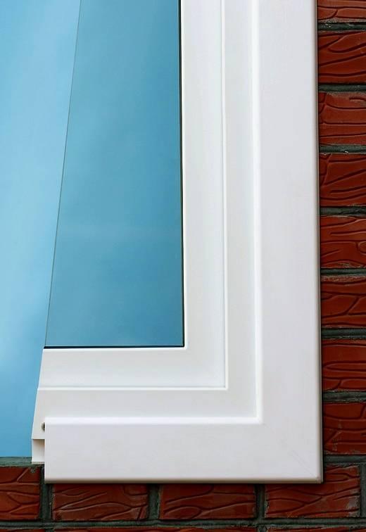 Разновидности и установка пластиковых наличников на окно