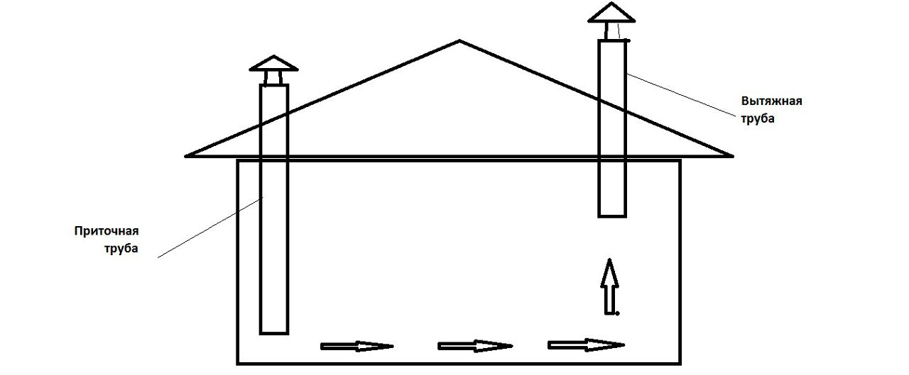 Вентиляция в курятнике своими руками: как сделать зимой и схема приточно-вытяжной