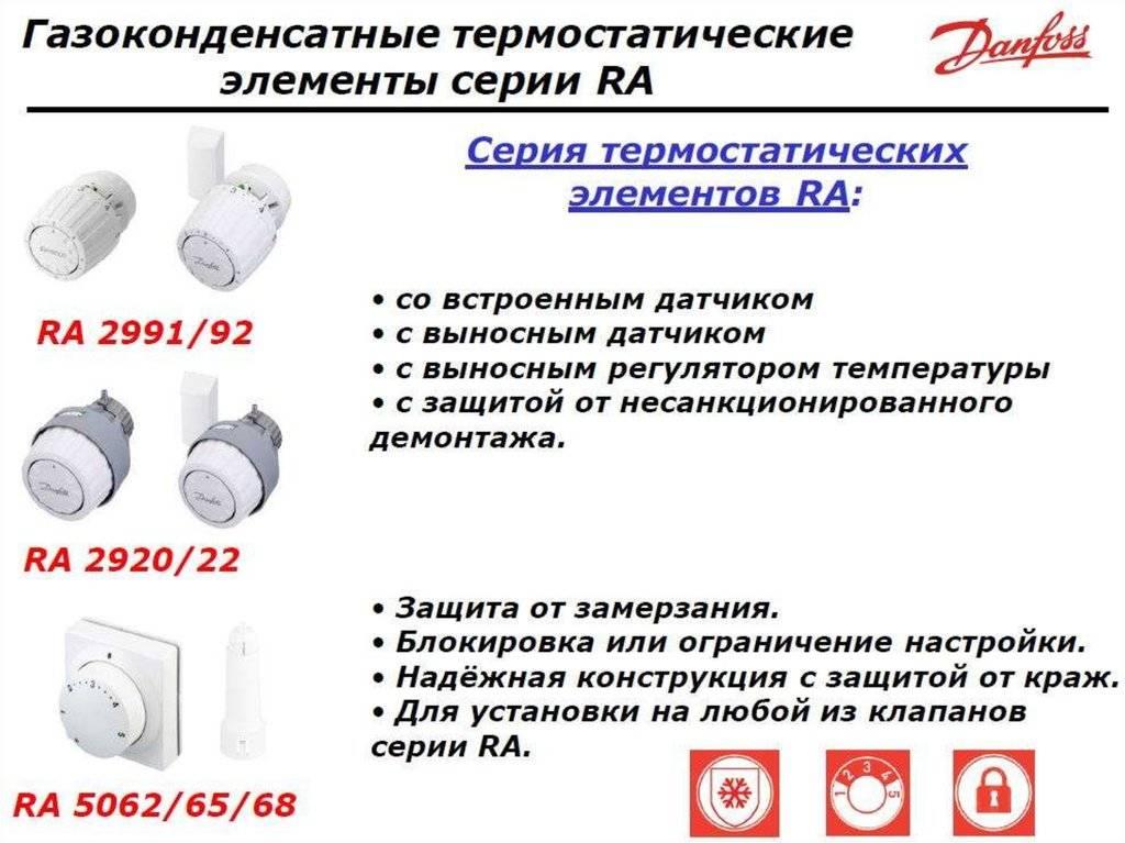 Danfoss терморегулятор инструкция по применению в батарее
