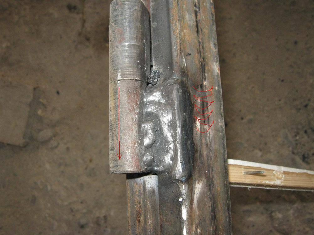Как правильно приварить петли на металлическую дверь