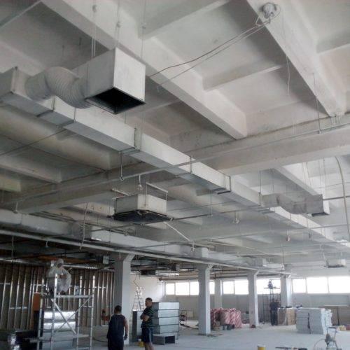 Проектирование вентиляции торговых комплексов: центров, залов, помещений