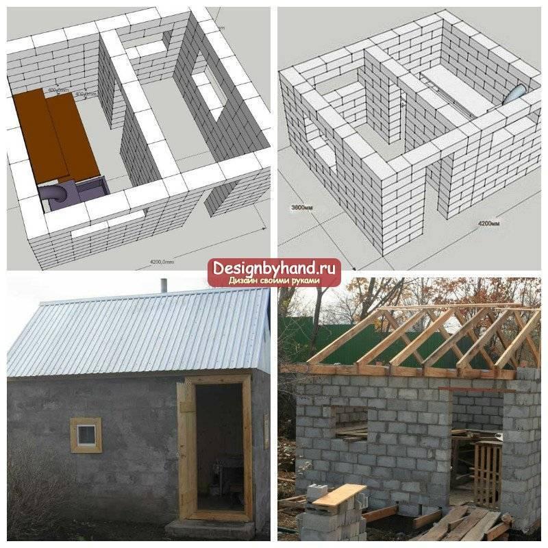 Дом из газобетона своими руками - как построить +фото | стройсоветы