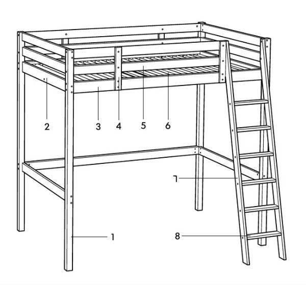 Кровать чердак своими руками, подробная инструкция с описанием процессов