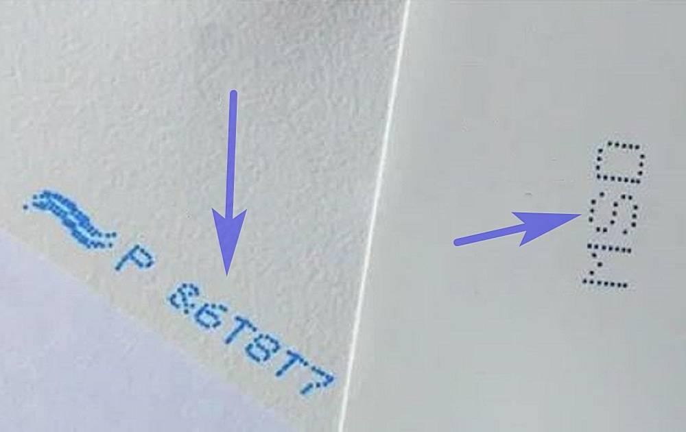 Что обозначает стрелка на обратной стороне плитки? | полезная информация для всех